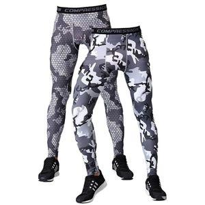 2 Pack of Men's Camo Compression Leggings Size XXL